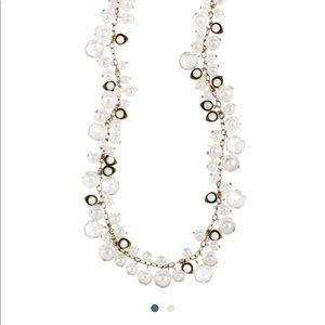 Pearl & Crystal drop Chloe & Isabel necklace
